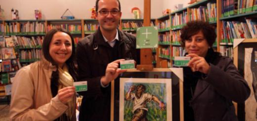 Foto: Da sinistra Arch. Monica Beretta Assessore alla Cultura, Ing. Diego Manenti Sindaco e Dott.ssa Giovanna Pranio Vicesindaco